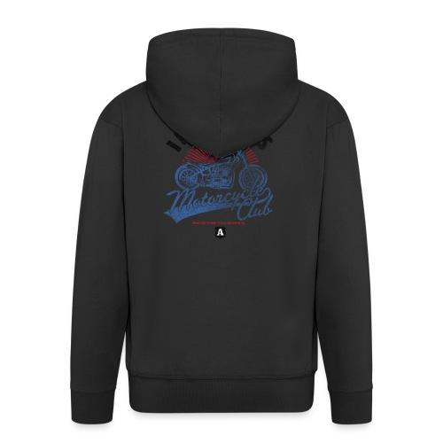 DownloadT-ShirtDesigns-com-2121724 Invaders - Men's Premium Hooded Jacket