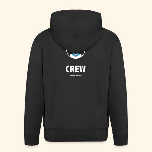 SeaProof Crew - Männer Premium Kapuzenjacke