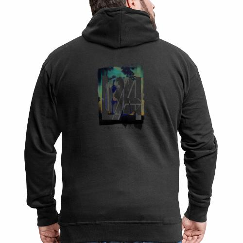 LA California - Men's Premium Hooded Jacket