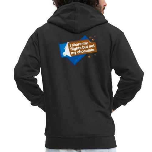 Share my flights - Men's Premium Hooded Jacket