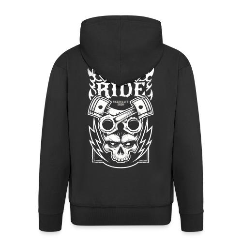 Bikerkluft - Just Enjoy The Ride - Biker Fashion - Männer Premium Kapuzenjacke