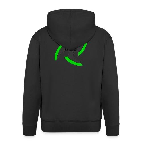 black-ronin-throwing-star-jpg_1 - Men's Premium Hooded Jacket