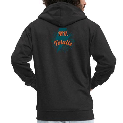 Esempio Logo o Stampa! - Felpa con zip Premium da uomo
