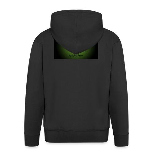 420 hash logo - Herre premium hættejakke