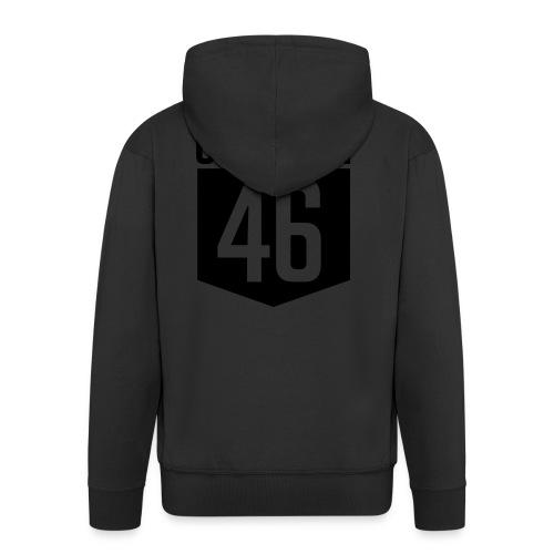 CROSSFIT46 big logo - Premium Hettejakke for menn