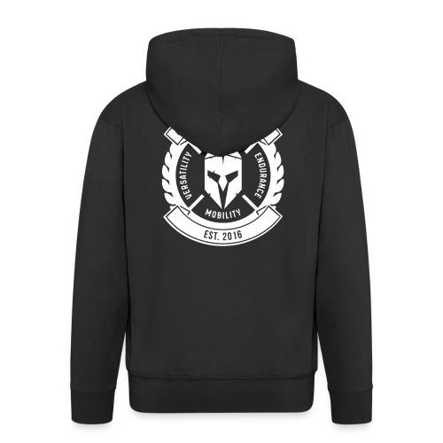 Original Legion Clothing - Miesten premium vetoketjullinen huppari