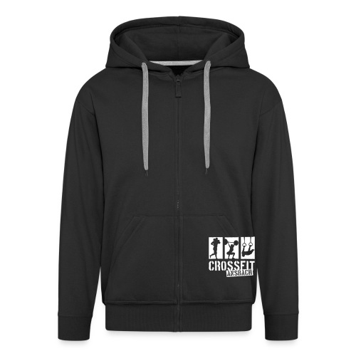 logo1f reduced - Männer Premium Kapuzenjacke