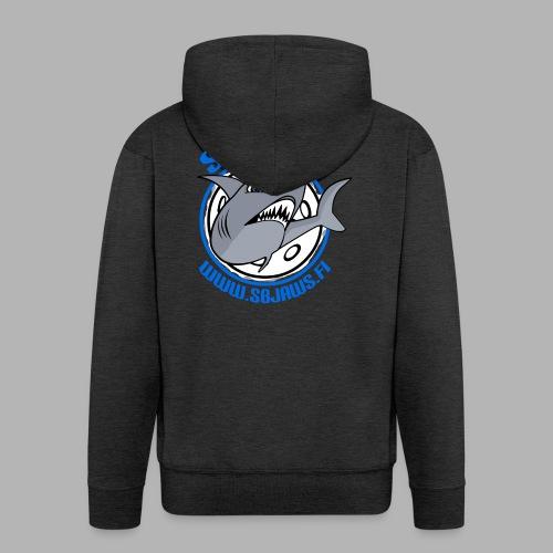 SB JAWS - Miesten premium vetoketjullinen huppari