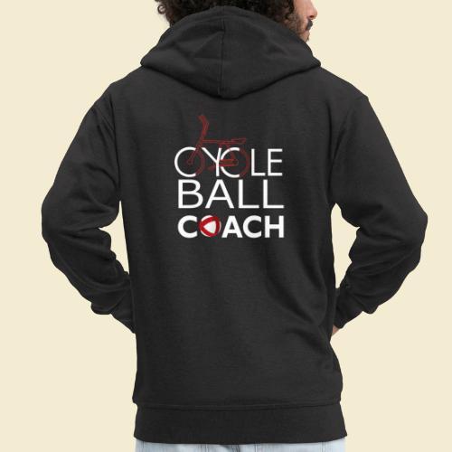 Radball | Cycle Ball Coach - Männer Premium Kapuzenjacke
