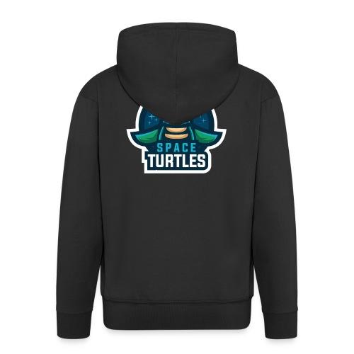 SpaceTurtles - Men's Premium Hooded Jacket
