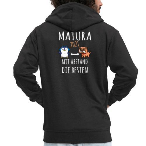 MBA Matura 2021 Hund Pinguin Shirt Geschenk - Männer Premium Kapuzenjacke