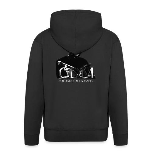 Dunkelwächter - Männer Premium Kapuzenjacke