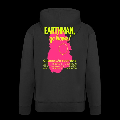 Earthman Go Home 2018 - Men's Premium Hooded Jacket