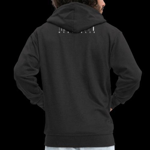 HYDRAULIX LOGO - Men's Premium Hooded Jacket