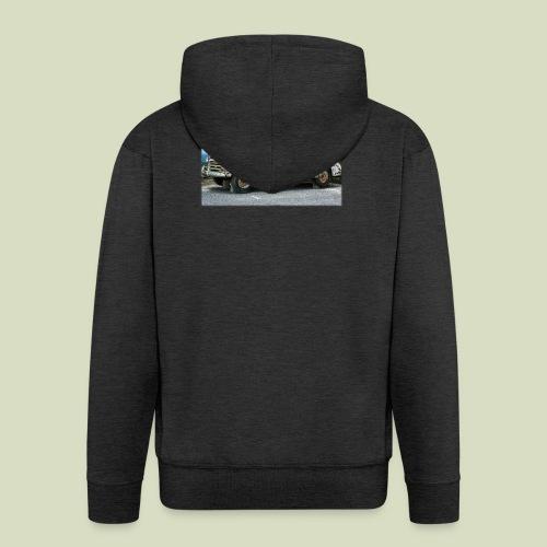 RustyCar - Miesten premium vetoketjullinen huppari
