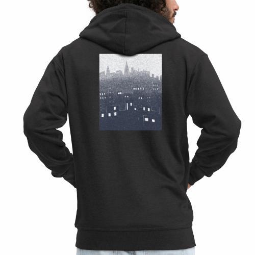 citysnow rectangle - Veste à capuche Premium Homme
