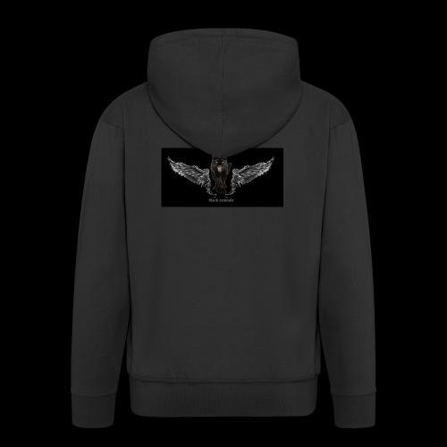 panthère ange - Veste à capuche Premium Homme