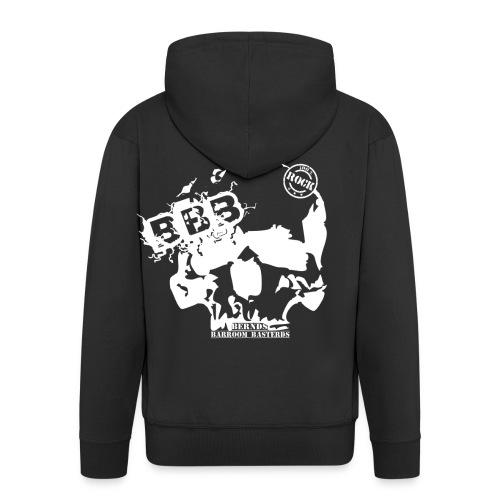 BBB schlichtes Logo schwarz ohne background png - Männer Premium Kapuzenjacke