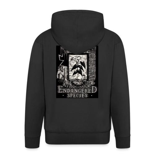 fatal charm - endangered species - Men's Premium Hooded Jacket