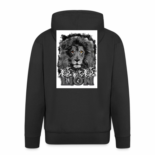 leon 1 - Chaqueta con capucha premium hombre
