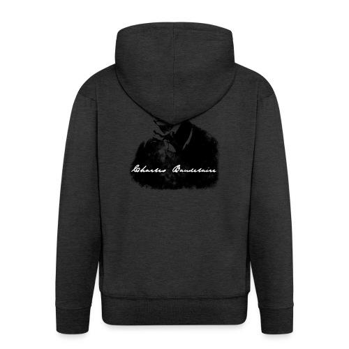 Charles Baudelaire - Veste à capuche Premium Homme