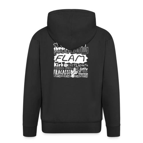 capitaine-blanc Tee shirts - Veste à capuche Premium Homme