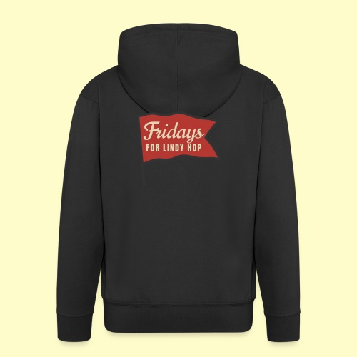 Lindy Hop Swing Tanz Geschenk T-Shirt - Männer Premium Kapuzenjacke