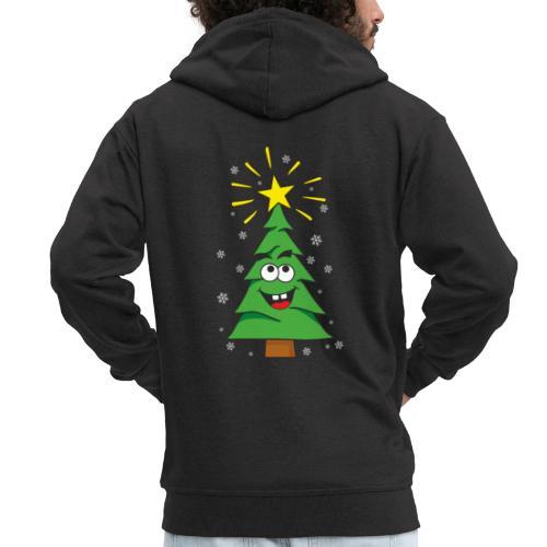 Árbol de navidad - Chaqueta con capucha premium hombre