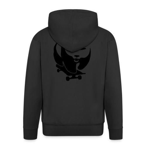 skateboard-panda-evil - Männer Premium Kapuzenjacke