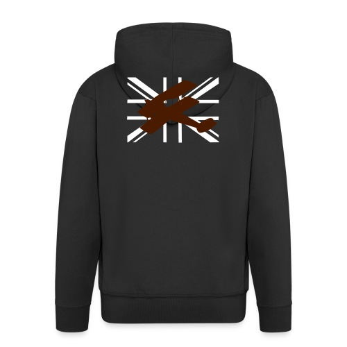 ukflagsmlWhite - Men's Premium Hooded Jacket