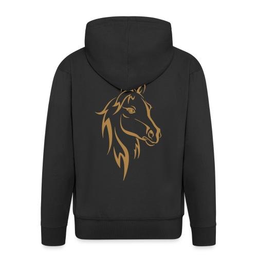 Vorschau: Horse - Männer Premium Kapuzenjacke