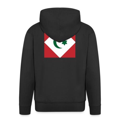 berber vlag - Mannenjack Premium met capuchon