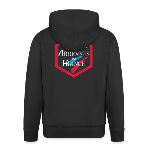 ardennesdefrance2 - Veste à capuche Premium Homme