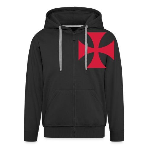 The Templar Cross Shirt - Männer Premium Kapuzenjacke