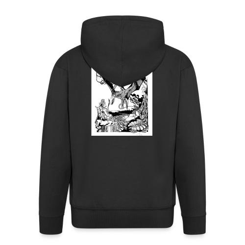 guerrera - Chaqueta con capucha premium hombre