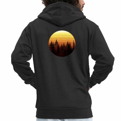 sunset - Veste à capuche Premium Homme