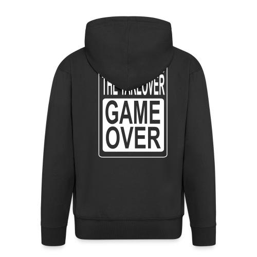 LARGE GAME OVER - Men's Premium Hooded Jacket