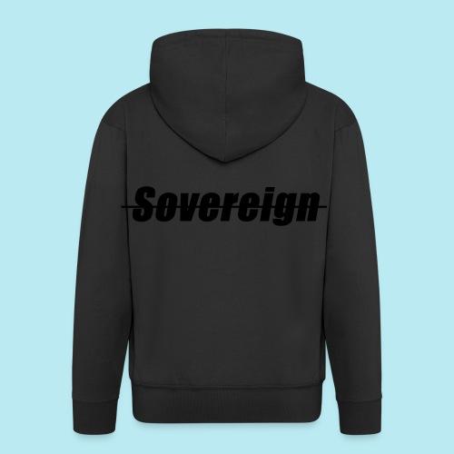 Sovereign Dash Black - Men's Premium Hooded Jacket