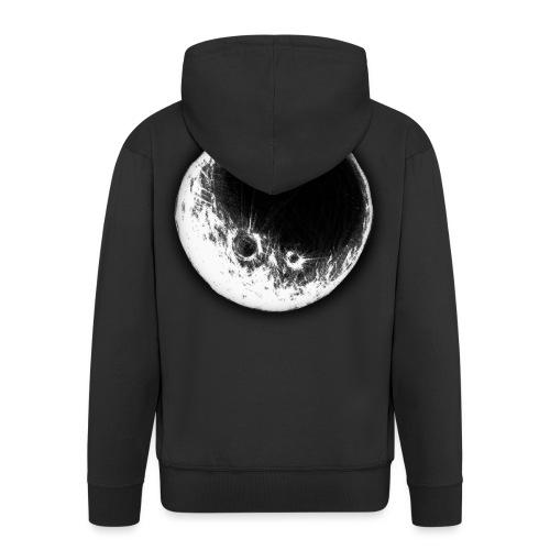Kuusanna Moon - Miesten premium vetoketjullinen huppari