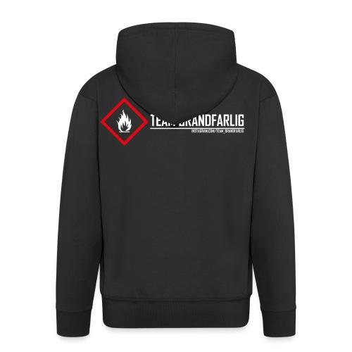 Team Brandfarlig vit - Premium-Luvjacka herr