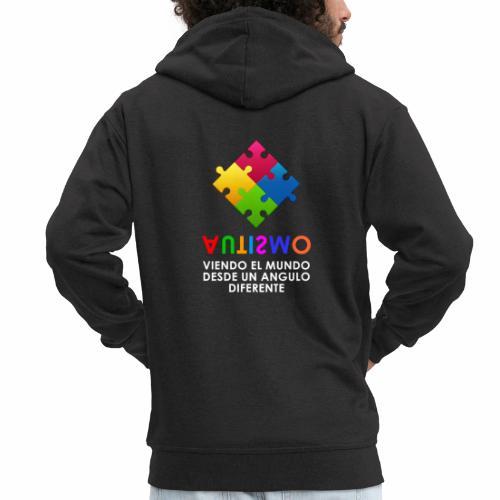 El Autismo según Yo soy Asperger - Chaqueta con capucha premium hombre