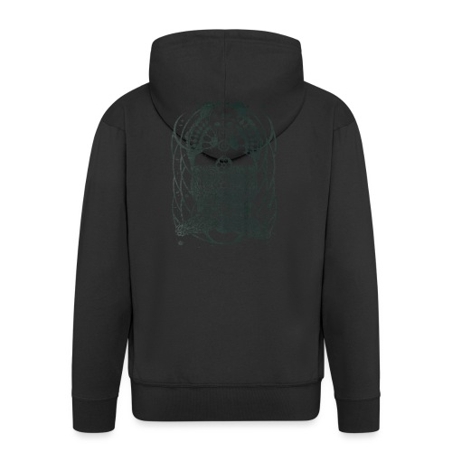 Alienbuddha - Men's Premium Hooded Jacket