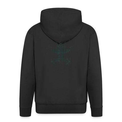 Magnoliids - Men's Premium Hooded Jacket
