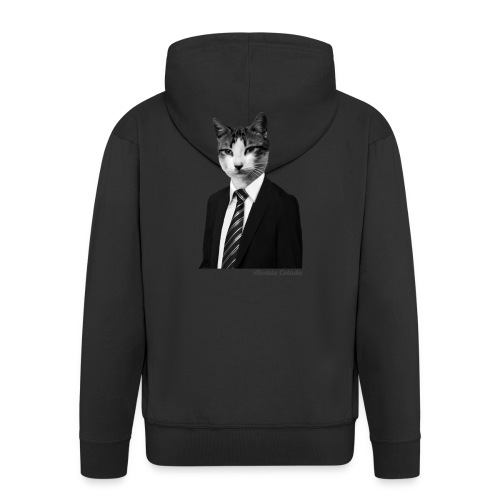 catsuit - Männer Premium Kapuzenjacke