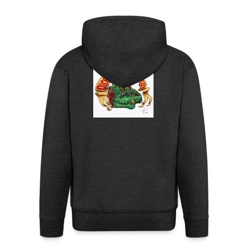 DiceMiniaturePaintGuy - Men's Premium Hooded Jacket