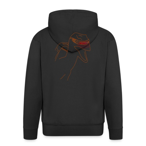 Raptor Shirt - Mannenjack Premium met capuchon
