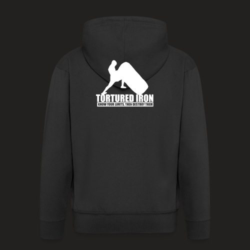 Strongman Tyr - Men's Premium Hooded Jacket