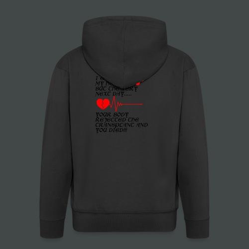 Last Chrismas - Men's Premium Hooded Jacket