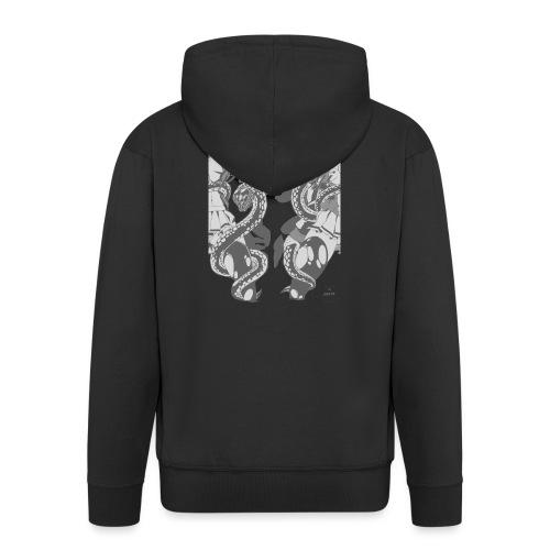 Bliss Yagami Grey - Veste à capuche Premium Homme