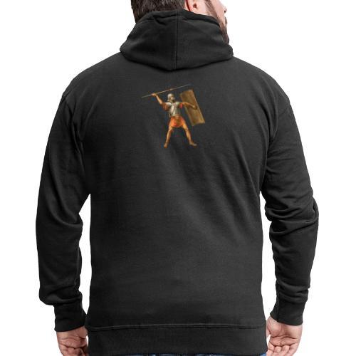 Legionista | Legionary - Rozpinana bluza męska z kapturem Premium